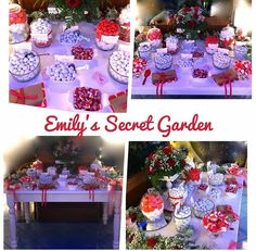 Red-white sweet table!