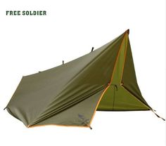 FREE SOLDIER Outdoor Survivor Awning Multi-function Mat Folding PU Waterproof Portable Tent Shade Rain Shed