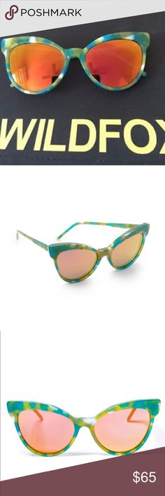 Wildfox Grand Dame sunglasses Color: Seaweed Wildfox Accessories Sunglasses