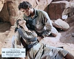 Marie Gomez and Burt Lancaster in The Professionals (1966)