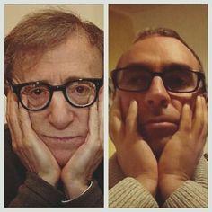 Woody Allen Fotografia Divertimento Somiglianze Attori Attrici Cantanti Gruppi Facebook Sosia  Spettacolo Musica Pin Cartoni Film Gioco Televisione Amici