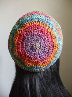 AwSoMe Crochet Women Men Tam Beret Slouchy Hat by everything2for32, $18.00