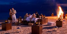 Bonfire celebration #couples at Sandals Whitehouse Resort on the north coast of Jamaica-Contact Jennifer to Book at (815)210-7596 or jschreib85@yahoo.com