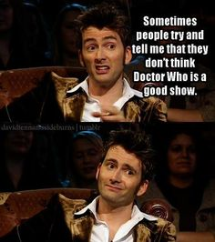 Yet another reason why David Tennant=WIN