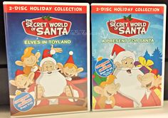 Holiday Giveaway! The Secret World of Santa DVDs Ends 12/18