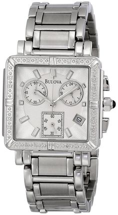 Best watches Bulova Women's 96R000 Diamond Accented  Be prepared for many compliments when wearing this watch.  I generally love elegant, understated watches that are good quality and look expensive.  It is pretty big which is the size that I like for women's watch. http://www.slideshare.net/CharlesITaylor/women-diamond-watches-beautiful-best-diamond-watches