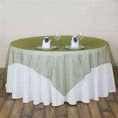 Celebrate your special day with efavormart's elegant wedding table covers and overlays. Buy the high quality Crystal Organza Table cloths and Overlays at wholesale rates. Green Wedding Decorations, Baby Shower Decorations, Patriotic Decorations, Thanksgiving Decorations, Holiday Decorations, Table Overlays, Square Tables, Round Tables, Chair Sashes