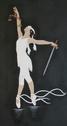 """Lady Justice"" by H.N. Beckham"