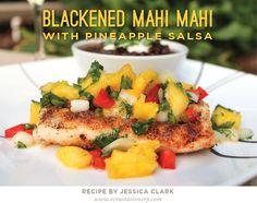 Blackened Mahi Mahi with Pineapple Salsa