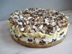 Tart Recipes, Baking Recipes, Dessert Recipes, Desserts, Eggless Cheesecake Recipe, Cheesecake Recipes, Snickers Cheesecake, Meringue Pie, Pudding