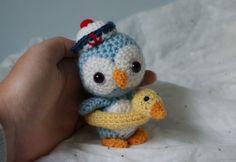 pingouin amigurumi fait main au crochet : Jeux, jouets par meme-croche                                                                                                                                                                                 Plus