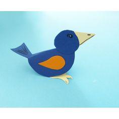Vogel basteln
