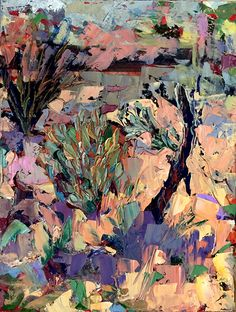 A Lazy Day in The Southwest by cynthia rosen Oil ~ 12 x 9