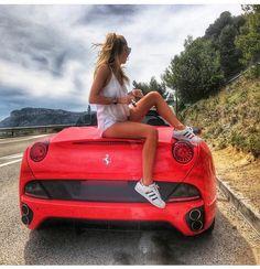 Sport Cars, Race Cars, Ferrari California, Top Cars, Car Girls, Girls Dream, Exotic Cars, Cars And Motorcycles, Luxury Cars