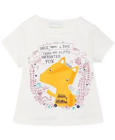 First Impressions Baby Girls' Fox Tee - Kids - Macy's