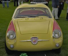 Photographs of the 1959 Abarth 750 GT Zagato. An image gallery of the 1959 Abarth 750 GT Zagato. Pebble Beach Concours, Fiat Abarth, Concours D Elegance, Vehicles, Image, Cutaway, Rolling Stock, Vehicle, Tools
