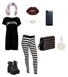 """Unicorn Dark"" by tb-mcr on Polyvore featuring moda, Forever 21, Boohoo, Alexander Wang y New Directions"