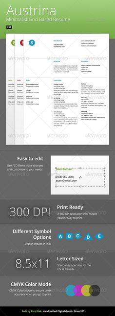 GeoMe Resume Template Resume Pinterest - different resume templates
