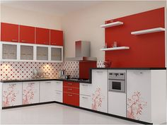 best indian kitchen interiors - Google Search