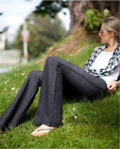 LuluLemon Pant Love these because the fabric and pattern is different from your plain black!