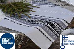 Kaihlalahti Clothing Uusi Suomussalmi -kuosinen keittiöpyyhe/pieni liina // New Suomussalmi design kitchentowel/small cloth // www.kaihlalahti.com #kaihlalahti #clothing #kaihlalahticlothing #designfromfinland #madeinfinland #scandinavianstyle #scandinavianinterior #scandinavianhome #scandinaviandesign #nordichome #modernhome #decoration #decorative #textiles #uusisuomussalmikuosi #finnishdesign #interior #finland #cloth #clothes #towel #kitchen #kitchentowel #kitchendesign #kainuu… Scandinavian Style, Finland, Textiles, Decoration, Interior, Kitchen, How To Make, Design, Clothes
