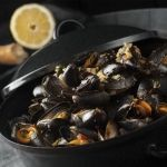 Mušle á la Marinier / Mussels á la Marinier