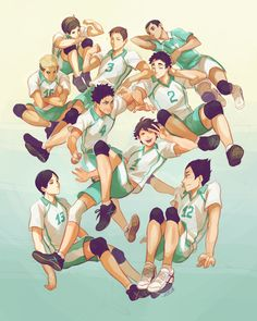 """Haikyuu: a fandom where you start team portraits from the main team's opponents. Haikyuu: where you were intending to write """"team portraits"""" but automatically typed """"family portraits"""" instead because you managed to adopt all of those kids in your heart. ヽ(;▽;)ノ"""