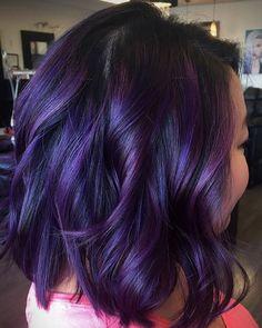 10 Plum Hair Color Ideas For Women
