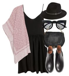 """Untitled #4292"" by laurenmboot ❤ liked on Polyvore featuring Retrò, MANGO and Sole Society"