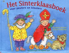 Deze is ook leuk! 'Het Sinterklaasboek voor peuters en kleuters'  van Marianne Busser & Ron Schröder