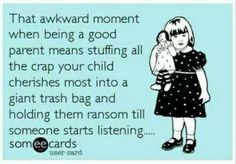 Lol glad I'm not alone in this!! #ParentingEcards