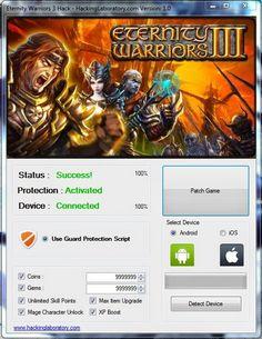 Hack and Keygen: Eternity Warriors 3 Hack