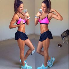 The ultimate fitspo - Kayla Itsines Abs Workout Video, Abs Workout Routines, Abs Workout For Women, Ab Workout At Home, Workout For Beginners, Lulu Lemon, Under Armour, Workouts For Teens, Oufits Casual