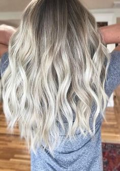 Loving those cool toned, ashy blonde hues. Color by Michelle Sommers. Filed under: Hair Color, Hair Styles, Hair Stylists Tagged: balayage, beauty, blonde, hair, hair color, highlights, style, trend