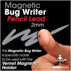 Magnetic BUG Writer (Pencil Lead) by Vernet - Trick