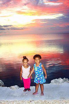 Capturing a beautiful Marathon Florida sunset