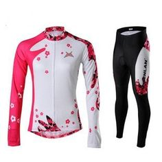 2012 Women's Long Sleeve Cycling Jerseys & Pants Set/Cycling Wear/Cycling Clothing(China (Mainland))