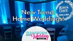 Home Weddings Trend: How To Pull Off A [Beautiful] Small Wedding! Home Wedding, Plan Your Wedding, Wedding Trends, Wedding Tips, Wedding Vendors, Weddings, Tired Of Waiting, Pull Off, Fun Learning