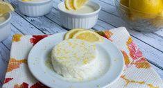 lemon panna of Light Desserts, Low Carb Desserts, Dessert Recipes, Paleo Ice Cream, Eating Light, Weight Watchers Meals, Low Carb Keto, Sugar Free, Desert Recipes
