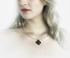 Necklace contemporary jewellery design FREE Shipping by DecoUno