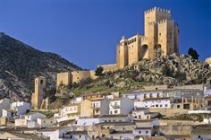 fortress of alcazabas, Almeria, Spain Spain Holidays, Castle In The Sky, Fortification, Secret Places, Andalusia, Murcia, Old Buildings, Spain Travel, Best Hotels
