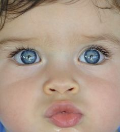 Adorable baby eyes