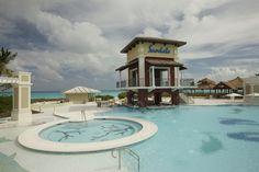 Pools area at Sandals Emerald Bay