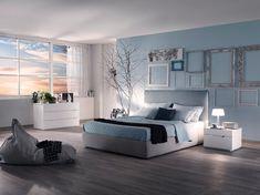 I letti in tessuto imbottiti Malta sono perfetto per una stanza da letto moderna. è in armonia con I colori dei tuoi muri e da un feeling di relax.