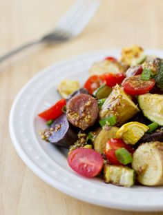 Fingerling Potato Salad with Vegetables and Mustard Sauce