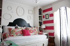Exceptionally Eclectic - Stripes & Pattern & Color Oh My, Home Tour - Eclectically Vintage