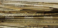 Anciens journaux empilés royalty-free stock photo Alphabet Photos, Journal, Wall Ideas, Bathroom Wall, Royalty Free Stock Photos, Mural Ideas