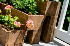 DIY Tiered Herb Garden — Decor and the Dog