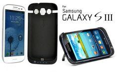 Power Case - 2200mAh Battery & Kickstand for Samsung Galaxy S3
