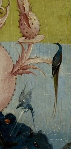 Detail from The Garden Of Earthly Delights, Hieronymus Bosch, 1490 - 1510 Hieronymus Bosch, Italian Paintings, Great Paintings, Prado, Statues, Garden Of Earthly Delights, Dutch Painters, Detail Art, Renaissance Art